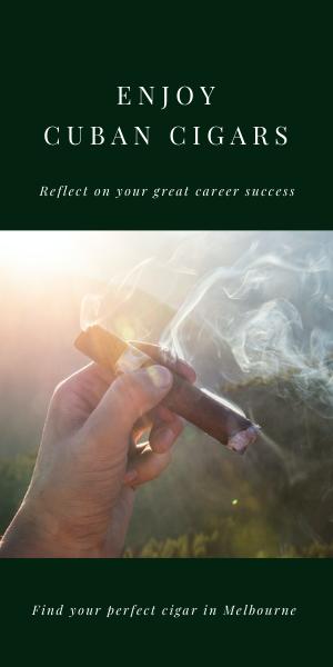 Enjoy your Cuban Cigar